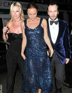 Kate Moss, Stella McCartney and Tom Ford