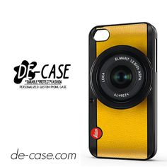 Lemon Yellow Leica Camera DEAL-6420 Apple Phonecase Cover For Iphone 4 / Iphone 4S