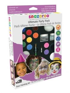 FACE PAINTING KITS FANCY DRESS HALLOWEEN PARTY PACK