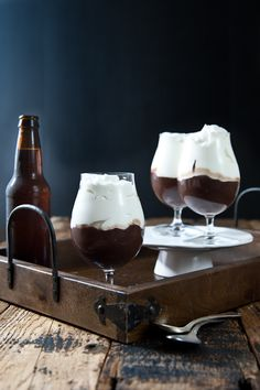 Chocolate Stout pudding