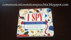I Spy therapy ideas