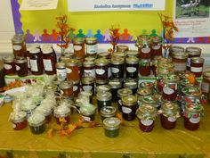 2014 Fall Bazaar.  We have some of the best cooks, bakers, and jelly makers in the world.