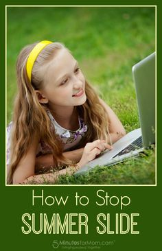 How to Stop Summer Slide - Help your children keep up their math skills over the summer