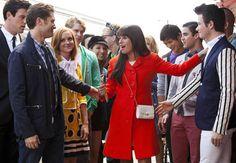 "Everyone Says Goodbye to Rachel in the Glee Season 3 Finale, Episode 22: ""Goodbye"