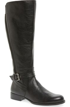Naturalizer 'Jelina' Riding Boot (Women) (Wide Calf) available at #Nordstrom