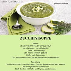 #zuccini #suppe #letsgetyouinshape