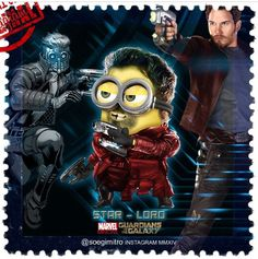 Guardians of the Galaxy Minions ~ Star-Lord