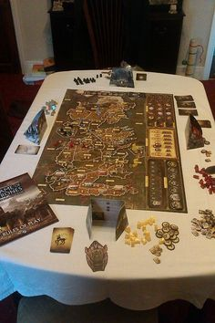 Review again. Game of Thrones. Another pinner said :Best board game ever!