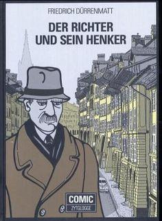 Der Richter und sein Henker. Comic - Dürrenmatt, Friedrich Der Richter, Friedrich, Studyblr, Comic, Comic Strips, Comics, Cartoon, Comics And Cartoons