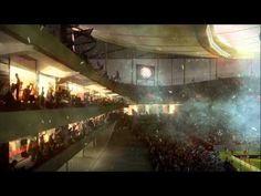 animation by MIR for le Nouveaux Stade De Bordeaux designed by Atelier Ferret