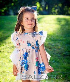 "#salzarra #girl #set #fashion #kids Dress with panties ""MAGIC BOUQUET FOR DIANE"""