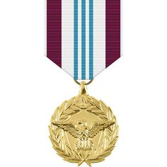 Defense Meritorious Service Anodized Medal