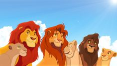 generation of the lion king