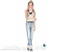 Ms Blue's Lindsey Blue Sims 3, Blues, Female, Women, Fashion, Moda, Women's, Fashion Styles, Woman