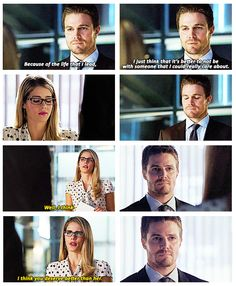 Arrow - Felicity & Oliver #2.6 #Season2 #Olicity