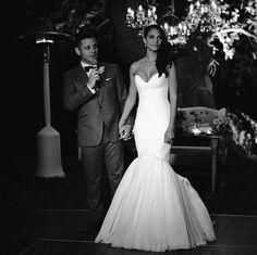 Denise Vasi's wedding
