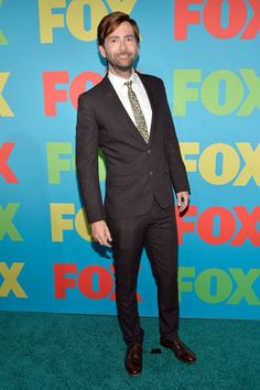 PHOTO OF THE DAY - 10th January 2017:   David Tennant attending FOX FanFront in 2014