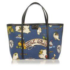 DOLCE & GABBANA shopper ISOLE EOLIE tote bag - BUYMA
