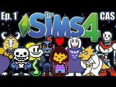 The Sims 4 - Undertale Theme - Ep. 1 (Create A Sim) - YouTube