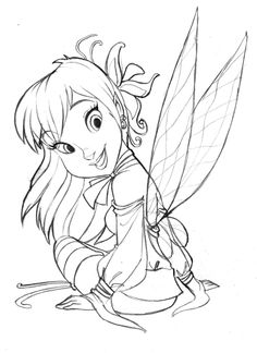 Fairie Pencil by andersonmahanski.deviantart.com on @deviantART