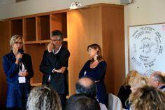 Maria Elena Rossi di Sviluppo Piemonte Turismo e Robert Piattelli di BTO. #noipiemonte - foto C.Pellerino