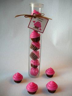 Cupcake Cuties Glycerin Soap Gift by brownbagbathbars on Etsy, $8.00