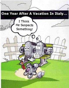 Too funny! #Moto Guzzi