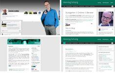 henningschuerig.de-Relaunch: Website und Blog fusioniert