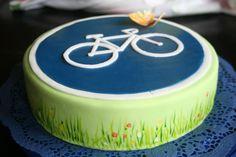 Fondant, Torte für den Rennradfahrer - Fondant Cake for a Racing Bicycle Driver