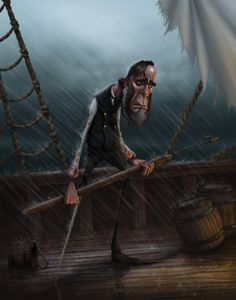 """Captain Ahab"" by Gregory Hartman."
