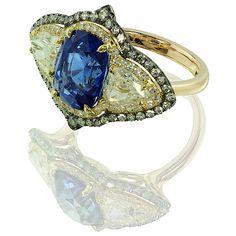 IVY new york - sapphire and diamond ring