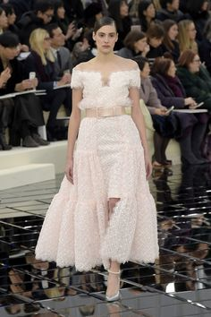 See Kendall Jenner and Bella Hadid walking the Chanel haute couture SS17 show, while Lily-Rose Depp closed it as the Bride.