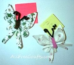 Paper butterflies magnet would be a gift your Mom will love!
