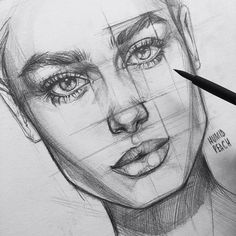 How to draw a face step by step using a simple approach of ...