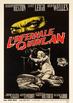 "Movie Posters:Film Noir, Touch of Evil (Universal International, 1958). Italian 2 - Foglio(39"" X 55"").. ... Image #1"