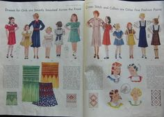 McCall Fashion Book, Spring 1935 featuring McCall patterns for children