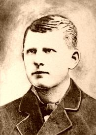 """Frank Dalton 1859-1887  US Deputy Marshall in Fort Smith, Ark. Described as""""one of the most brave and efficient officers"""".  Was killed on Nov.27th 1887 while trying to arrest Dave Smith.  Frank Dalton was older brother of the Dalton Brothers."""