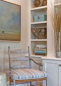 Coastal Living...a quiet corner by Anita Clark Design