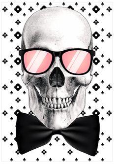 Mr. Bonehead-Chic (Canvas) #skull