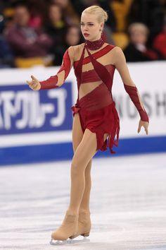 Anna Pogorilaya    世界選手権・第2日(女子SP、アイスダンスFD) フォトギャラリー フィギュアスケート