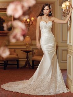 Sophia Tolli Wedding Dress - Y11414. To see our Sophia Tolli collection visit: http://www.lovethatfrock.com/wedding/the-bride/wedding-dresses/?designer=30