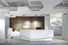 Футуристический дизайн офиса компании Wise Group в Стокгольме, Швеция