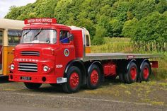 Photos and description of Leyland octopus,Leyland. Everything you want to know about this car. Heavy Duty Trucks, Big Rig Trucks, Old Lorries, Old Commercials, Panel Truck, Road Train, British Rail, Volvo Trucks, Busses