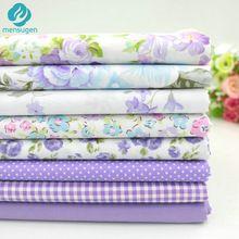 8 unids/lote 40 cm * 50 cm de Algodón de Color Púrpura (2) Impreso Tejido de Algodón para Coser Costura Muñeca de Trapo Patchwork Quilting Telas para Patchwork(China (Mainland))