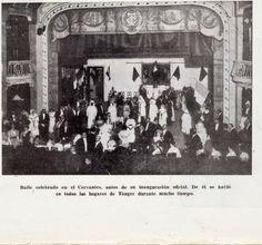 hoy tres de febrero de 1913 están ustedes invitados al primer baile de disfraces en el teatro cervantes,sera un acto del que seguro, dará que hablar en Tanger por mucho tiempo