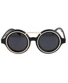 Round Vintage Sunglasses