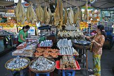 vietnam, mekong-delta, chau doc: trockenfisch in allen variationen | Flickr - Photo Sharing!