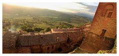 Medieval citadel - Montepulciano, Tuscany  | by © Etienne Roudaut