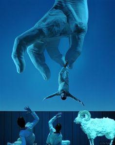 Odessey,Robert Wilson,National Theater,Athens