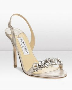 5 Pairs of Over-the-Top Wedding Shoes! Which Would You Wear? (If You're Going to Splurge on Wedding Shoes, Jimmy Choo Has You Covered!) #jimmychooheelsstrappy #jimmychooheelswedding